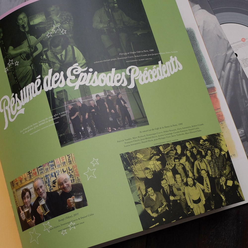 Image of DOMINIQUE CRAVIC & LES PRIMITIFS DU FUTUR - RESUME DES EPISODES PRECEDENTS (FFL050)