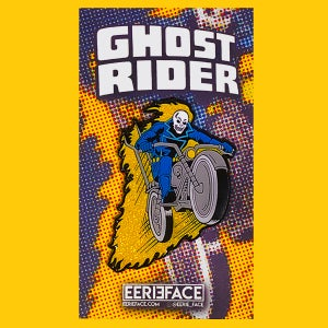 Image of Ghost Biker pin