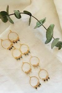 Image of Créoles mini BLOSSOM / Mini BLOSSOM loops earrings