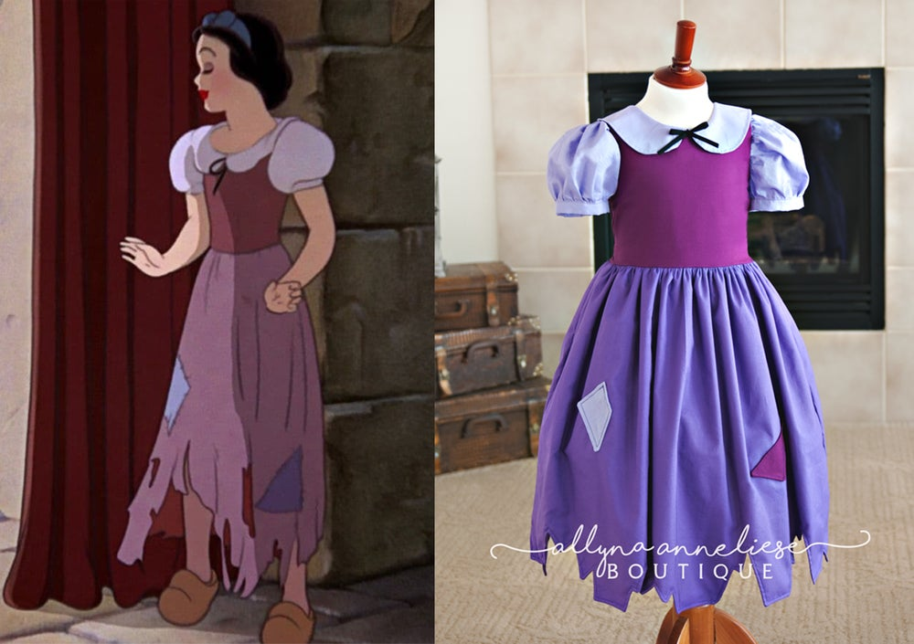 Image of Snow White Peasant Inspired Dress