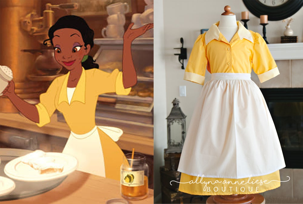 Image of Tiana Peasant Inspired Dress