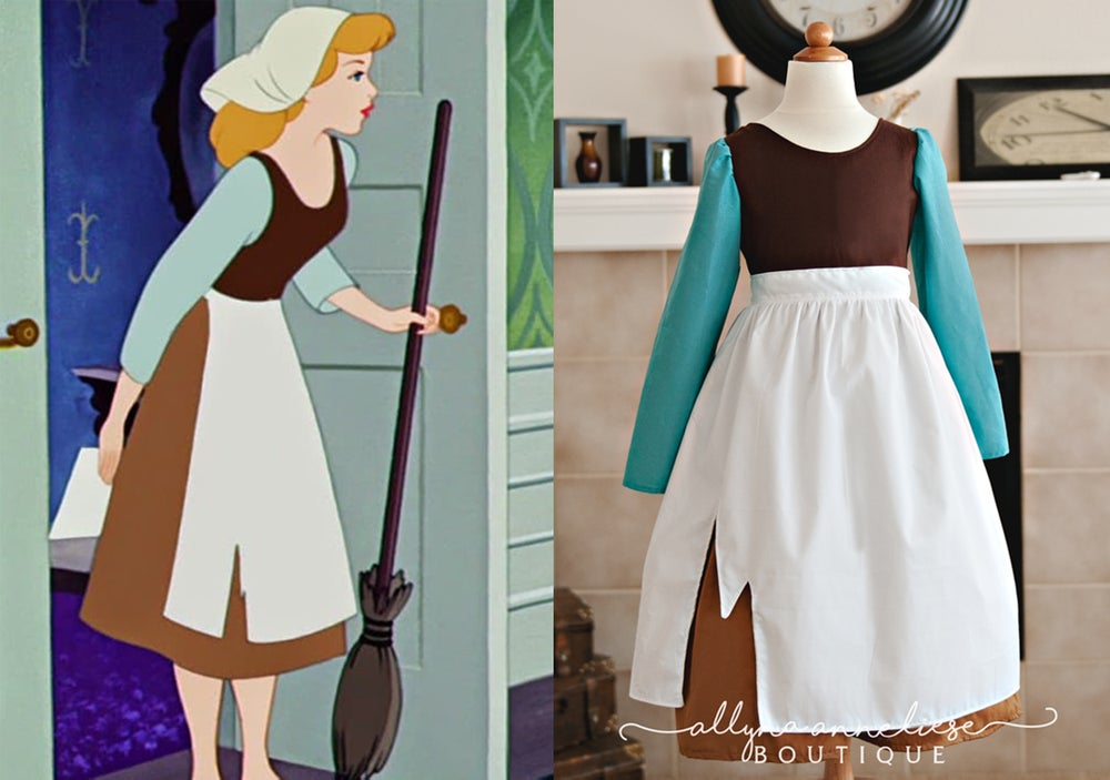 Image of Cinderelly Peasant Inspired Dress