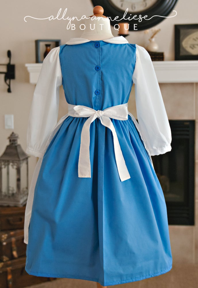 Image of Belle Peasant Inspired Dress