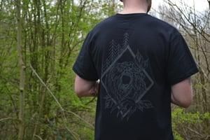 Image of Alex Faulkner x Outta This Town Wild Bear T-shirt Black 🐻