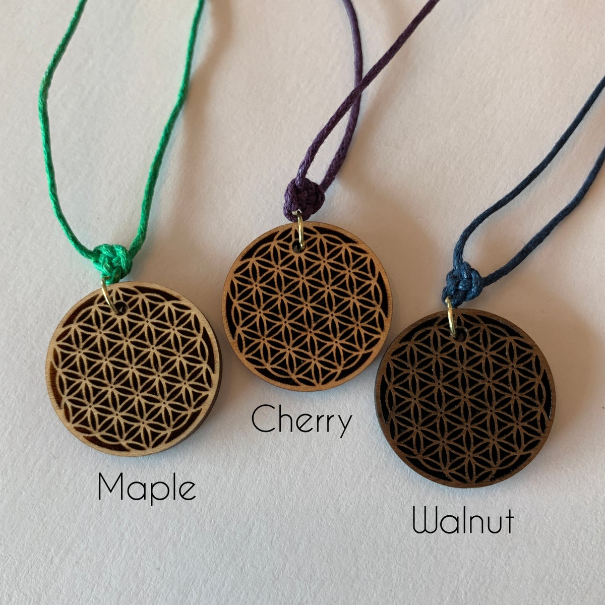 Image of Flower of Life Necklace