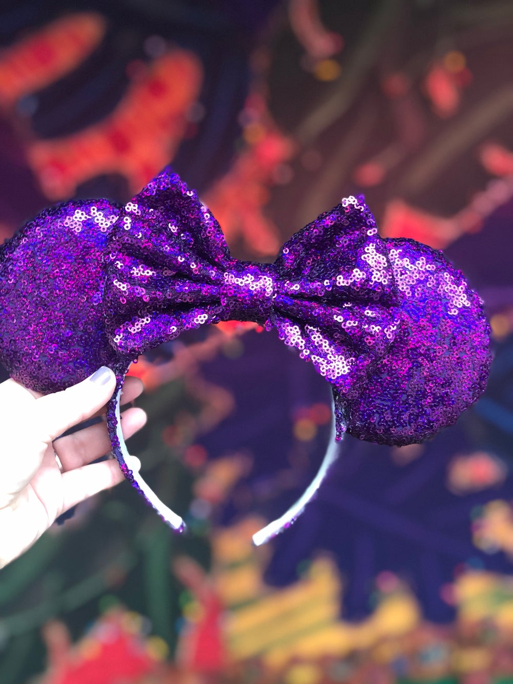 Image of Purple Potion Holographic Ears