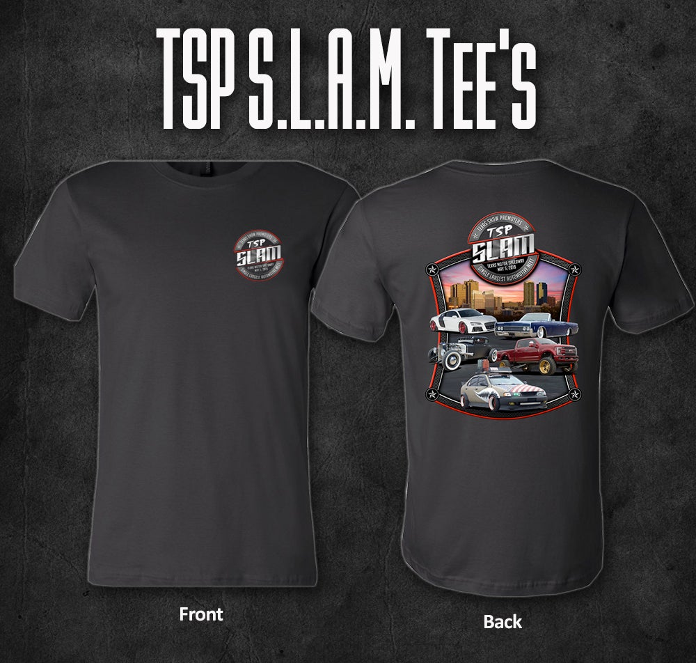 Image of TSP S.L.A.M. 2019 Event Tee's