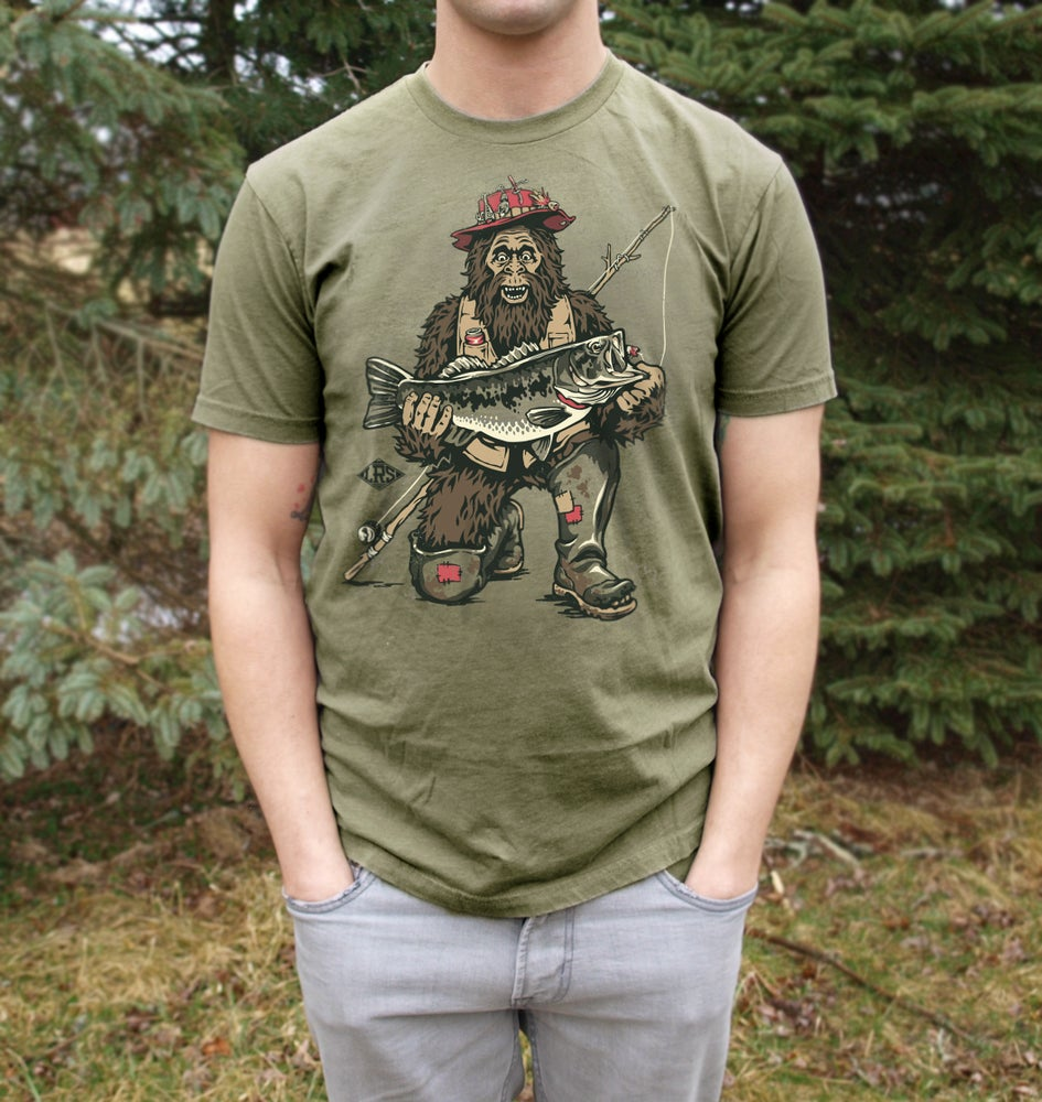 Image of Bassquatch Tee