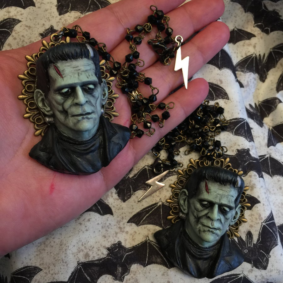 Image of Pre Order for Frankenstein Necklace