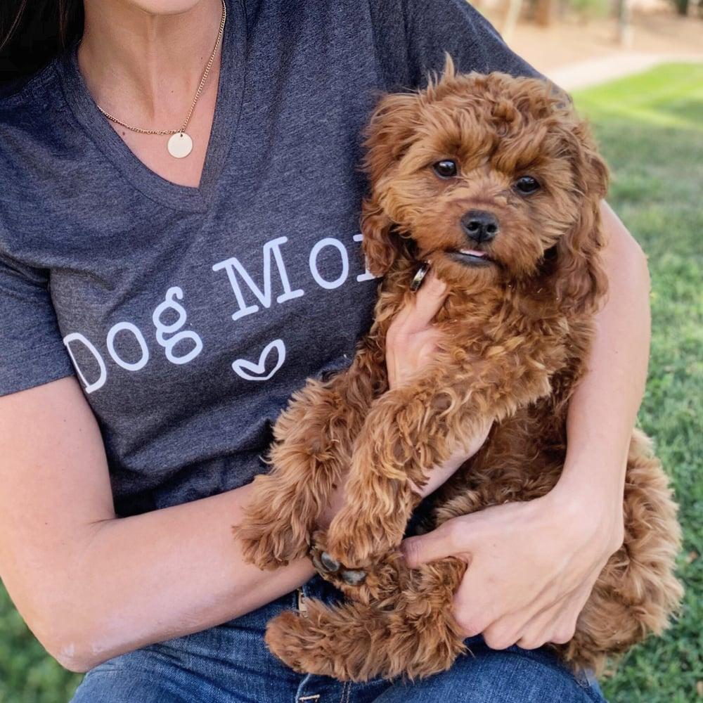 Image of Dog mom tee