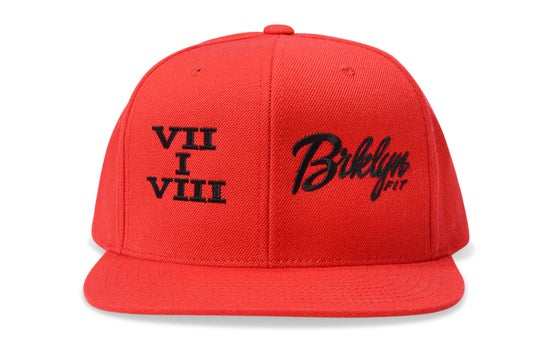 Image of BRKLYN FIT® 718 (RED) - SNAPBACK