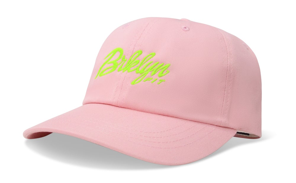 Image of BRKLYN FIT® LOGO (PINK) - DAD HAT