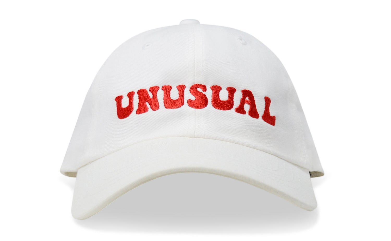 Image of UNUSUAL (WHITE) - DAD HAT