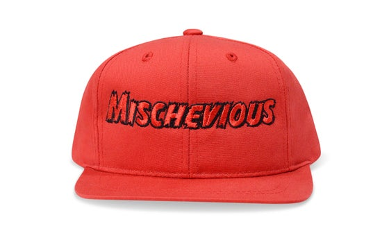 Image of MISCHEVIOUS (RED) - KIDS SNAPBACK