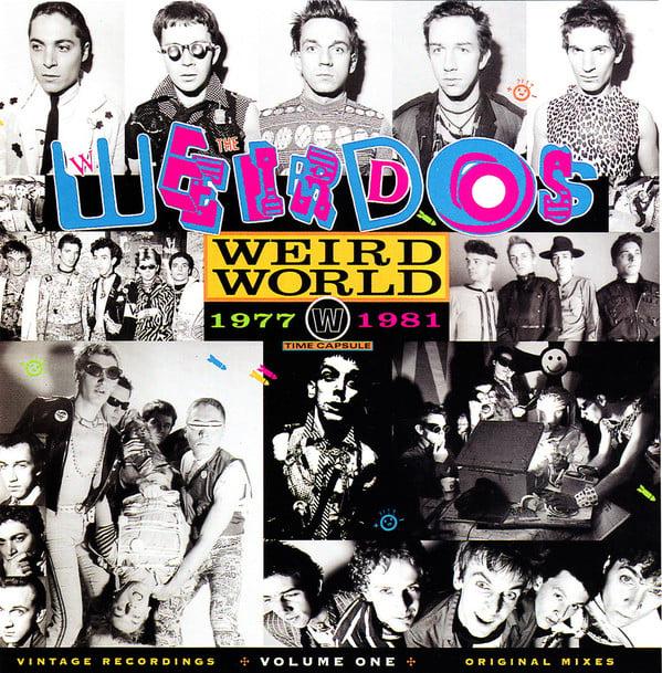 """Image of the WEIRDOS - """"Weird World: 1977-1981"""" LP"""