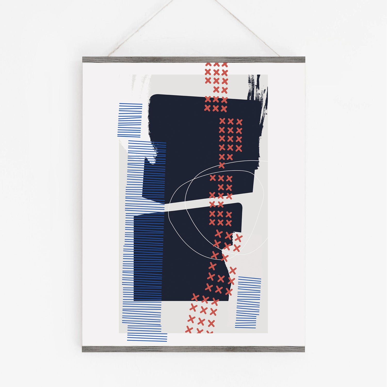 Image of Askew Art Print