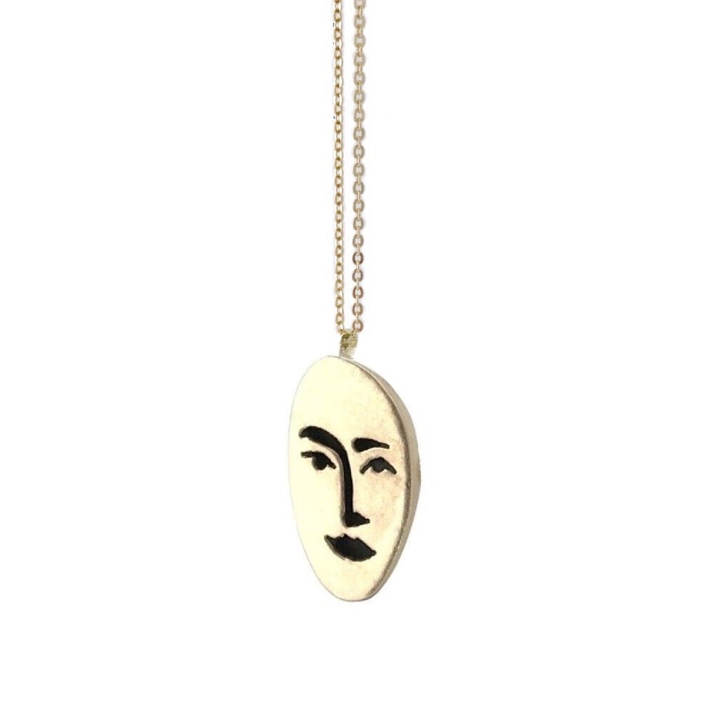 Image of Face Necklace