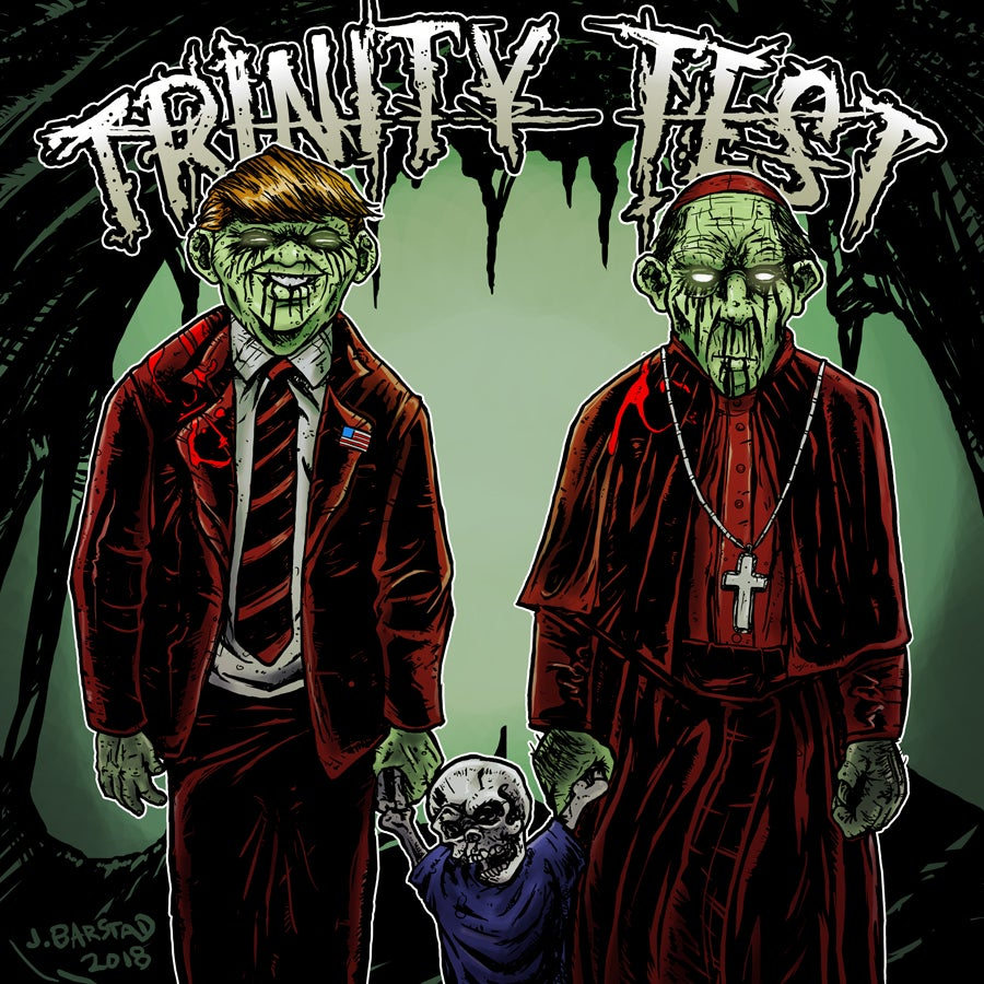"Image of TRINITY TEST 10 song BLACK VINYL 12"" - RECORD STORE DAY 2019 release!"