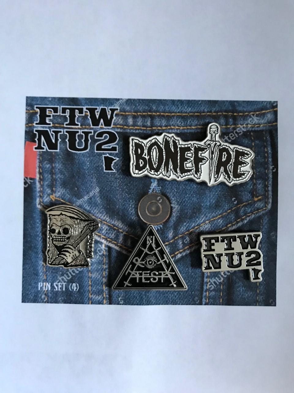 Image of FTWNU2 METAL PIN SET (4)