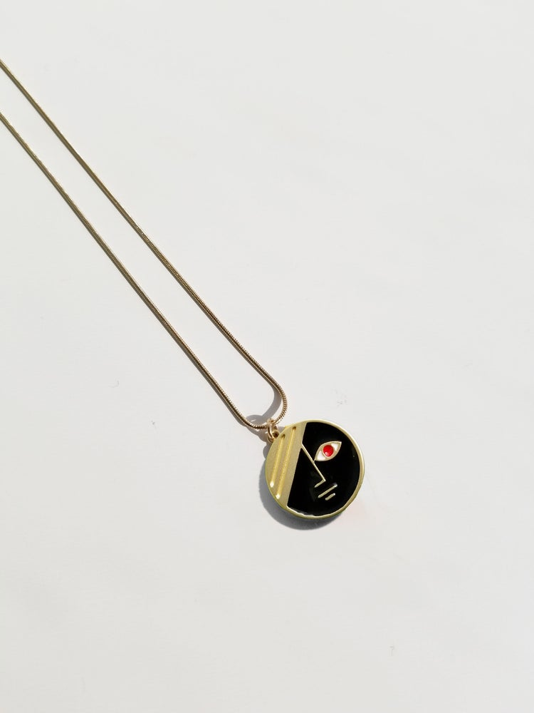 Image of Mini Eclipse Necklace • Stain Stainless steel