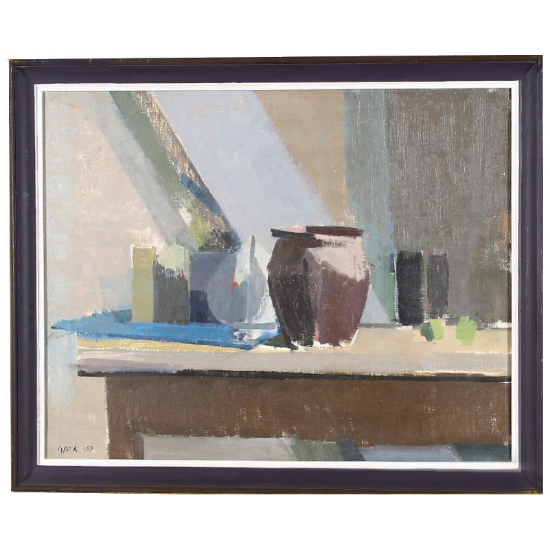 Image of Large, 1957 Still Life,  'Vessels,' Igge Karlsson