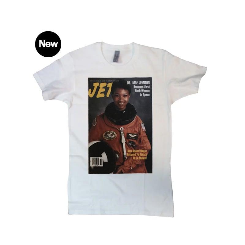 Image of 1992 Jet Magazine Dr. Mae Jemison Cover Unisex T-Shirt