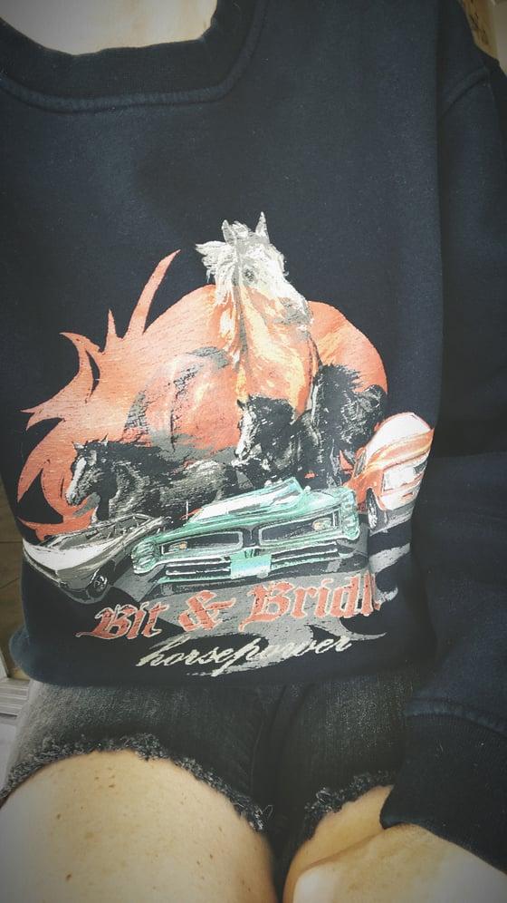 Image of Vintage Bit & Bridle Crewneck Sweatshirt