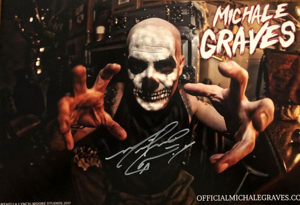 "Image of Michale Graves ""Fun House"" autographed poster 12x18"