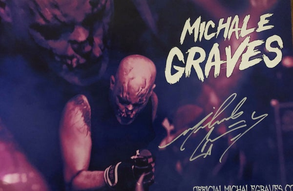 "Image of Michale Graves ""Purple Haze"" 12x18 poster hand signed by Michale Graves"