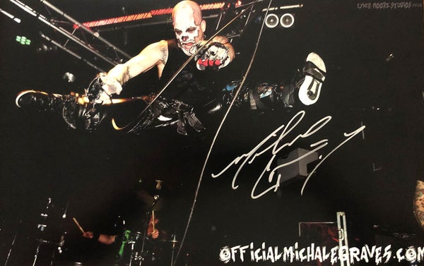 "Image of Michale Graves 12x18 ""Jump"" poster hand signed by Michale Graves"