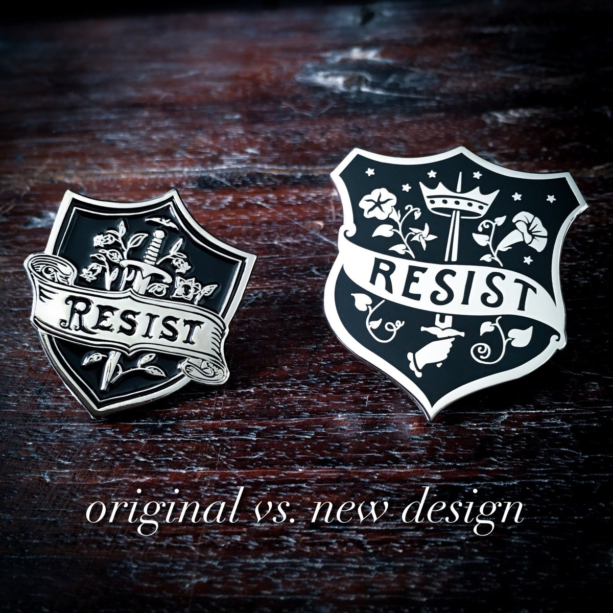 Image of RESIST Insignia Pin II