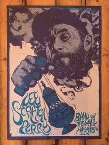 Image of Lee Scratch Perry Tour Poster 2014