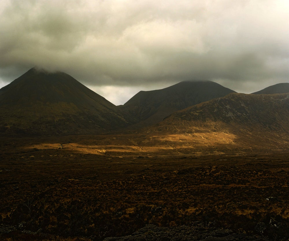 Image of Red Cuillin from Sligachan