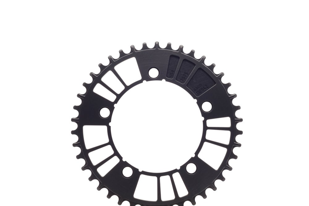 Image of aarn 110#38/40/42 Basics 1x 12-Speed Chainring (110BCD//38/40/42-Tooth)