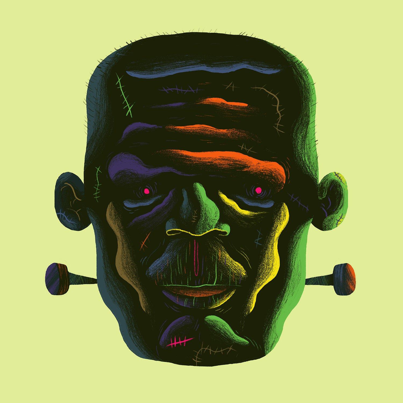 Image of Frank Framed Print
