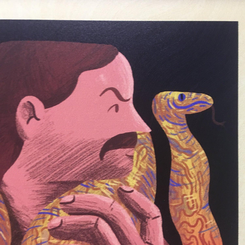 Image of Jake the Snake Roberts framed print