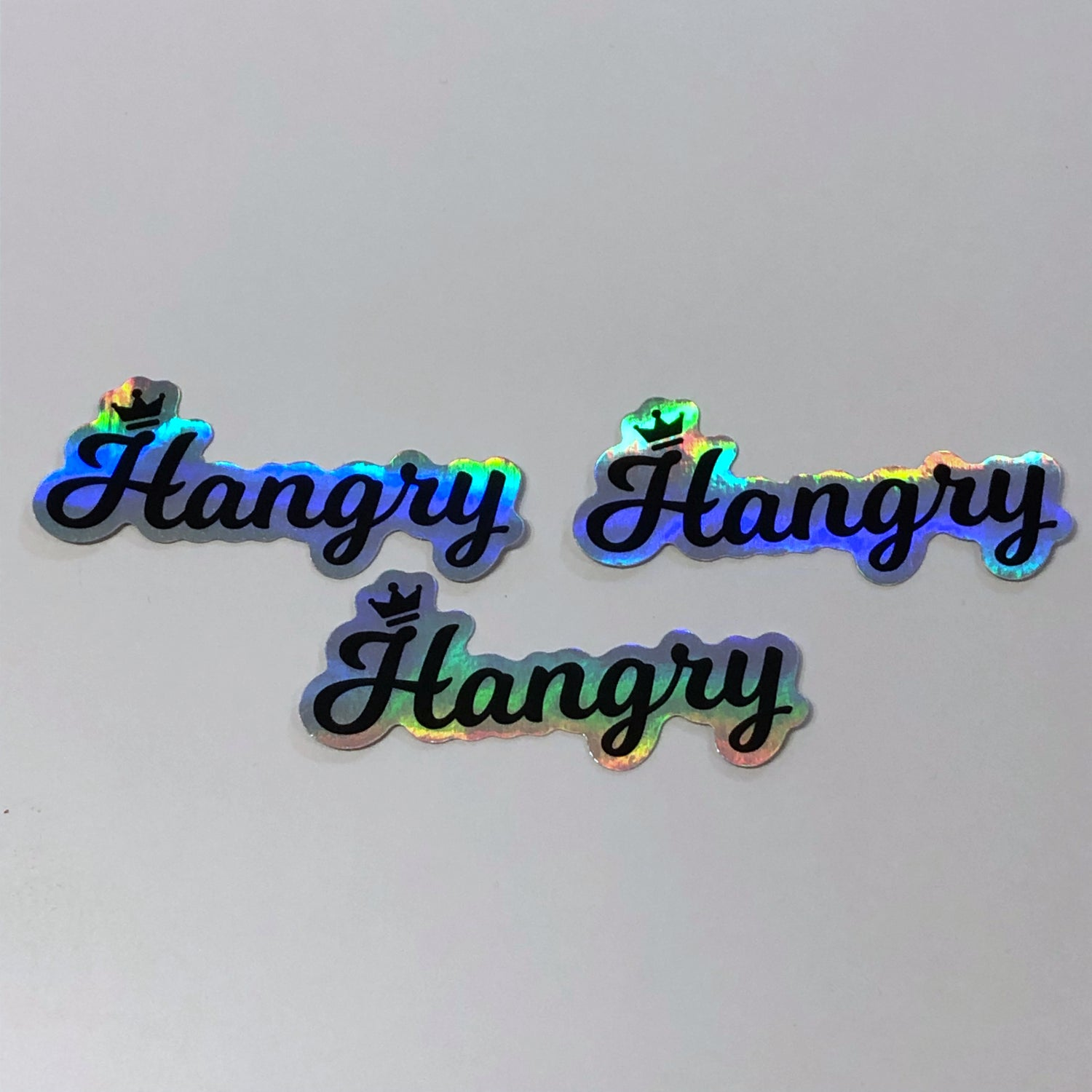 Image of Holographic Hangry Sticker