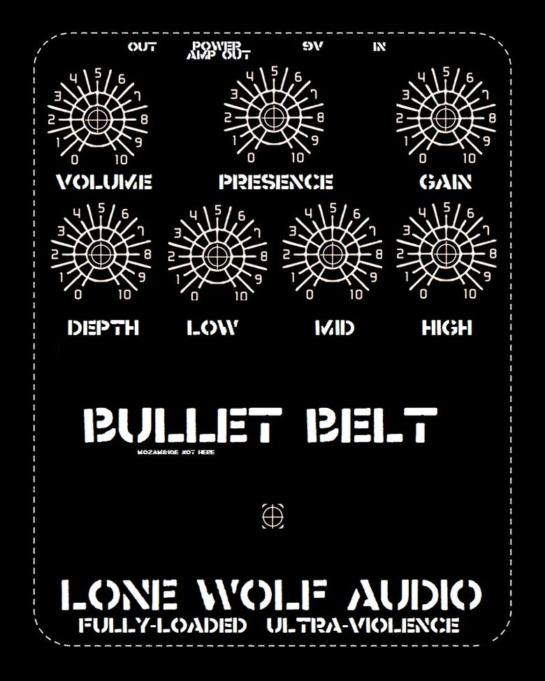 Image of Bulletbelt -- Hardcore Distortion  pre sale