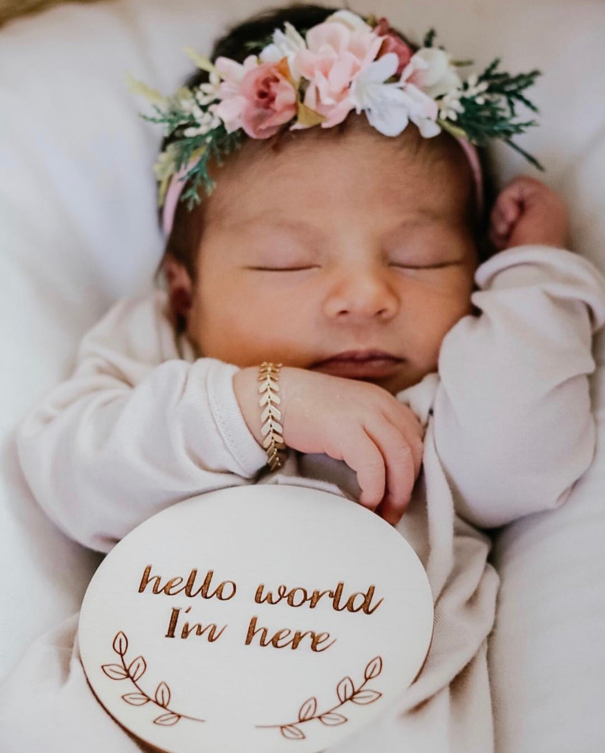 Image of Newborn Announcement Plaques
