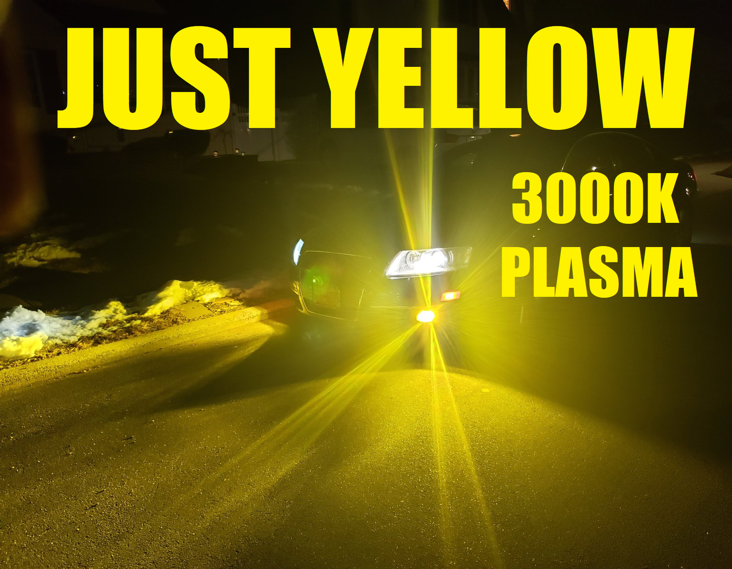 Image of Just Yellow Hyper 3000k Plasma  Fog LED Kit