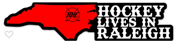 Image of RHC - Hockey Lives in Raleigh Sticker
