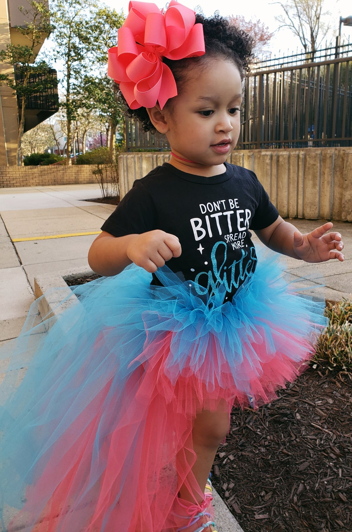 Image of Cotton Candy Hi Low Tutu