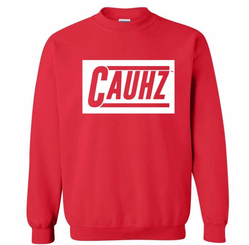Cauhz™ (Red) Crewneck Sweatshirt