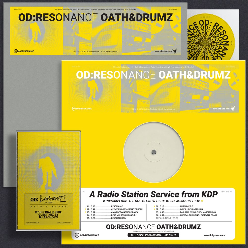 Image of OD: Resonance Limited DJ Promo Pack
