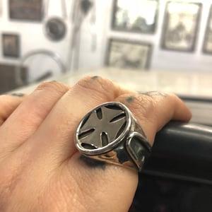 Image of Iron Cross Sissy Ring
