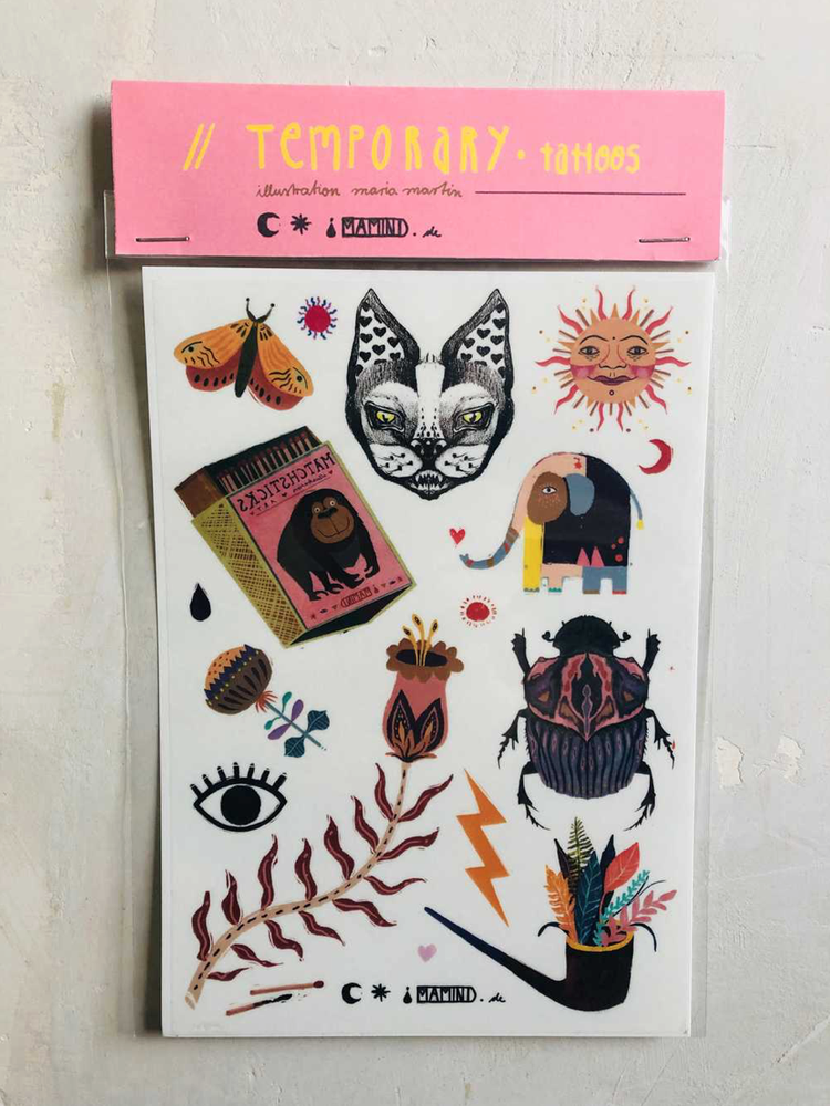 Image of ● temporary tattoos ●