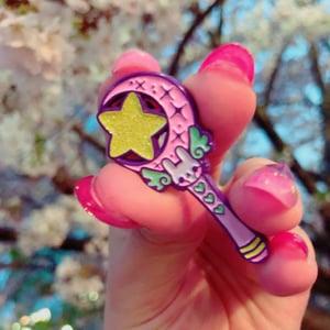 Image of MAGICAL BUNNY STICK 🐰 PIN