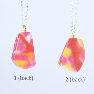 Image of Clump Necklaces 1 and 2