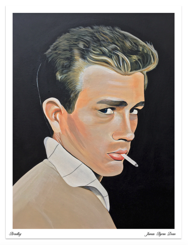 Image of James Byron Dean Limited Edition Poster Print