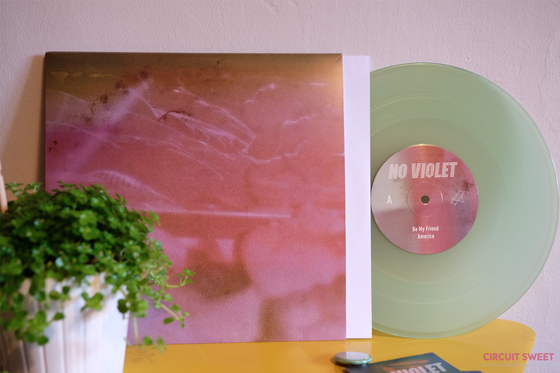 "Image of No Violet - Faces 10"" Vinyl"